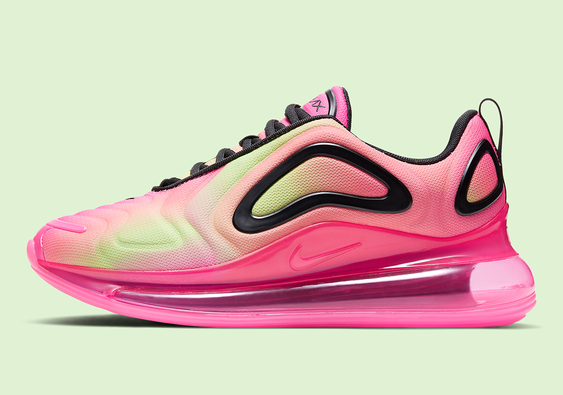 air max 720 rose fluo