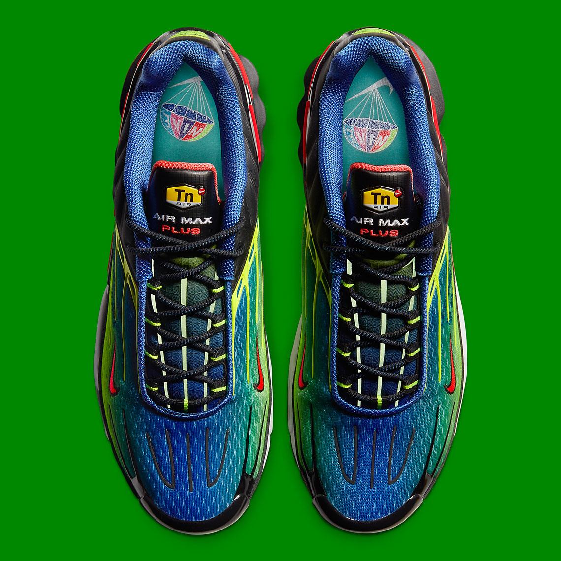 Nike Air Max Plus 3 Parachute Vert CU4710-400 - Crumpe
