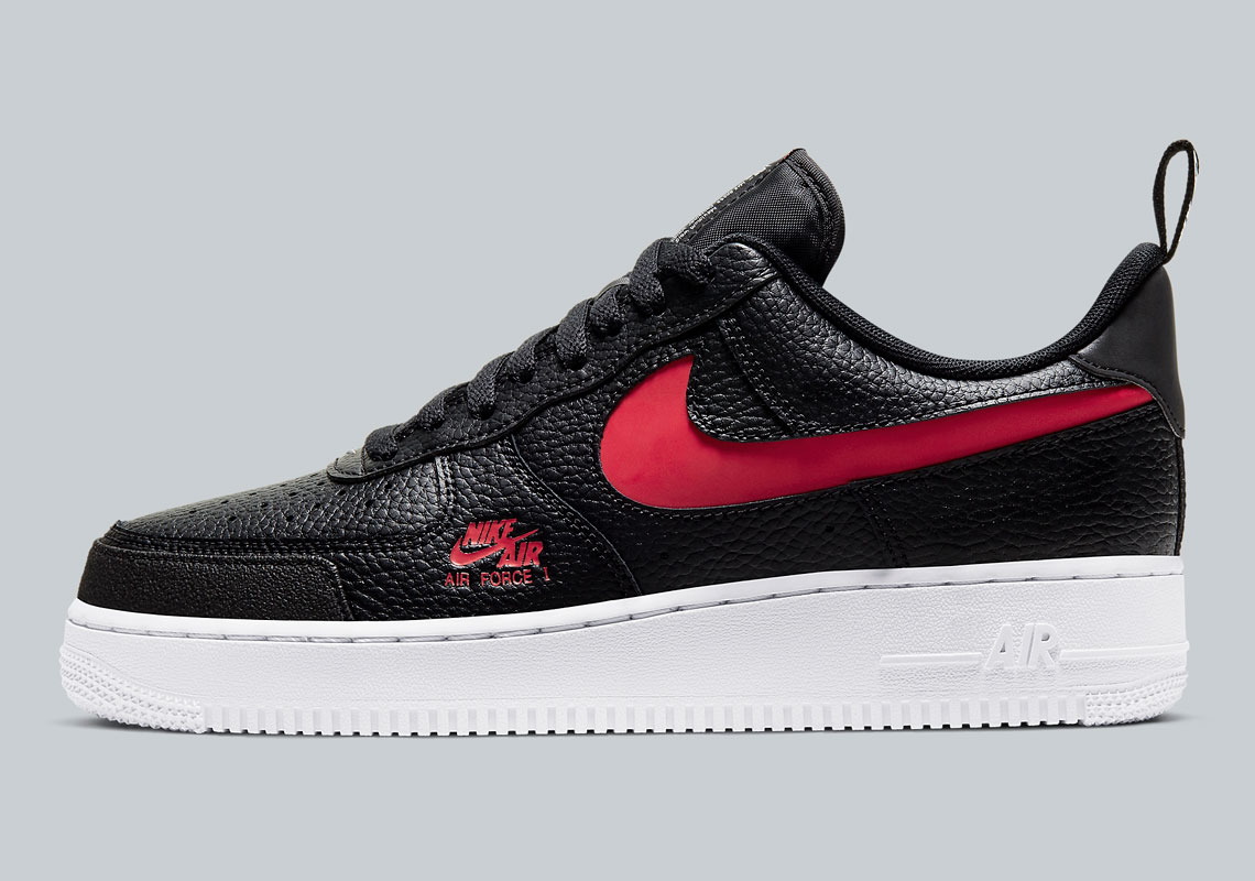 air force 1 noir rouge
