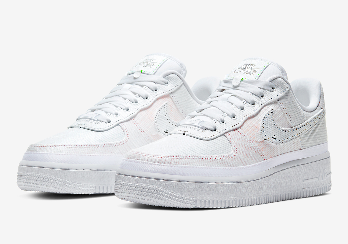 Infos Nike Air Force 1 Tearaway CJ1650 100 Crumpe