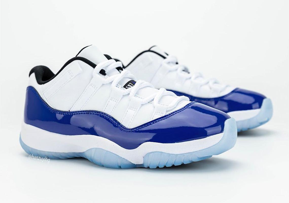 air jordan 11 bleu