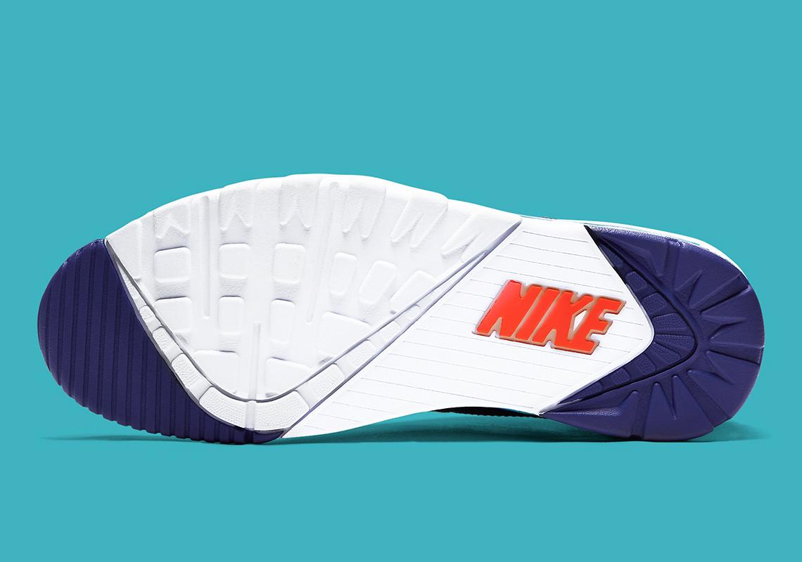 Nike Air Trainer High Teal Orange CW6023 401 Crumpe