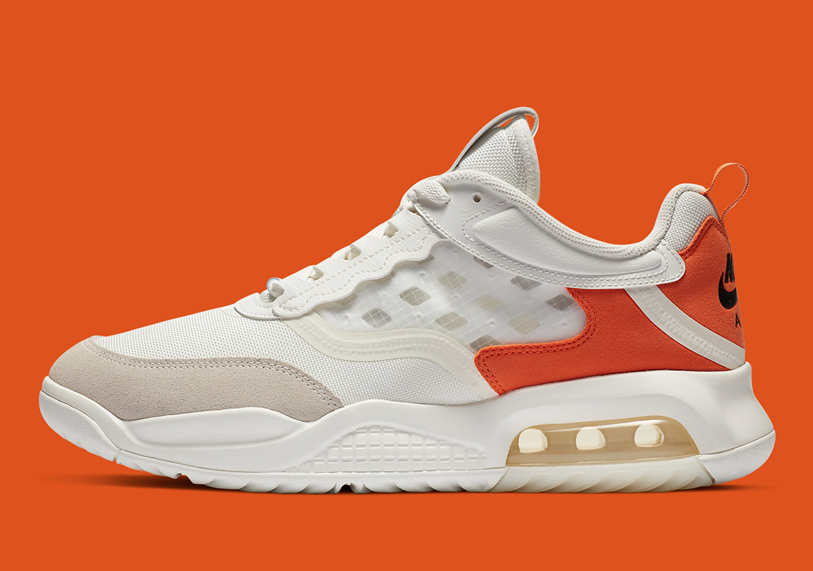 air max 200 white orange
