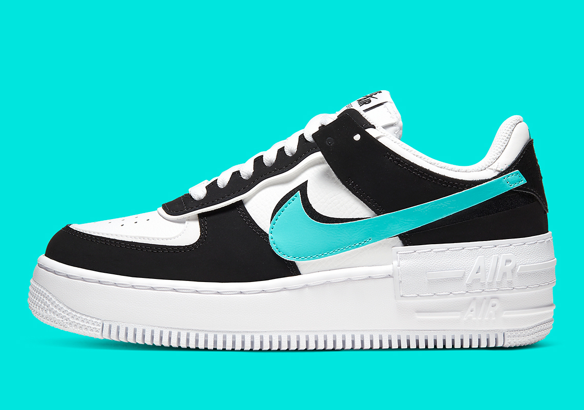 air force 1 shadow noir et blanc