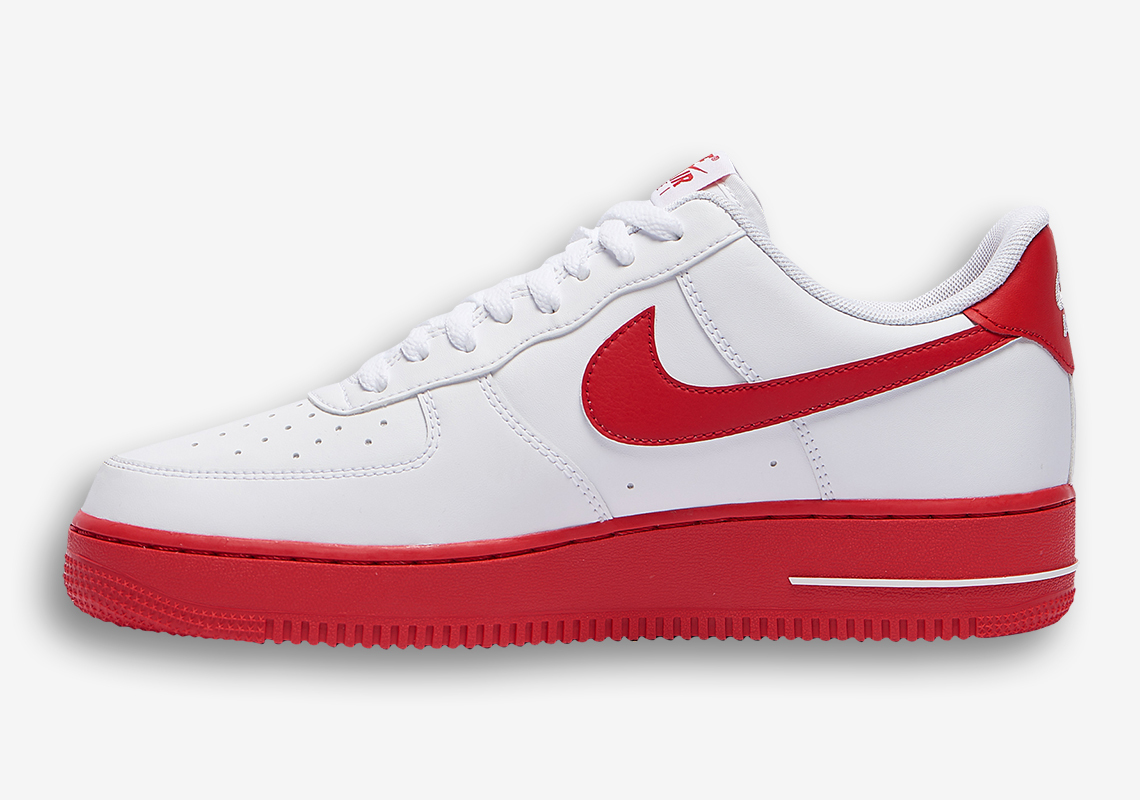 Bas Nike Air Force 1 Low Rouge CK7663 102 Crumpe
