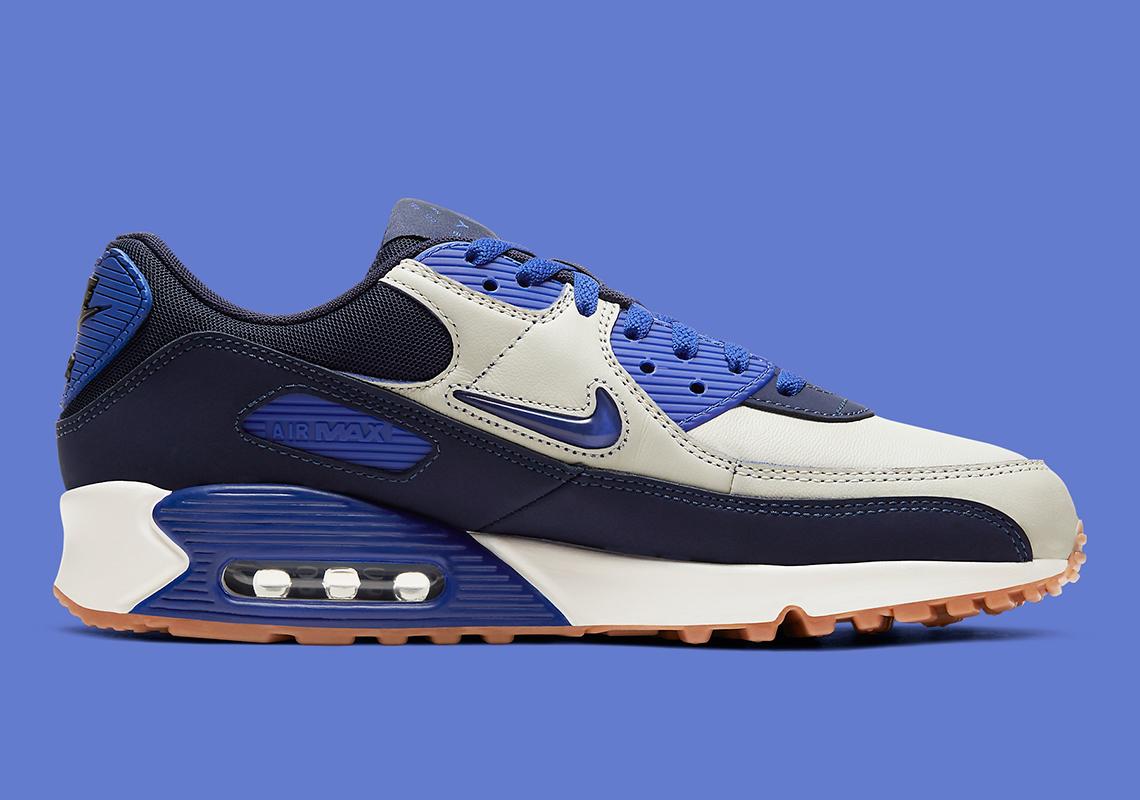 Nike Air Max 90 Jewel Royal Bleu CJ0611-102 - Crumpe