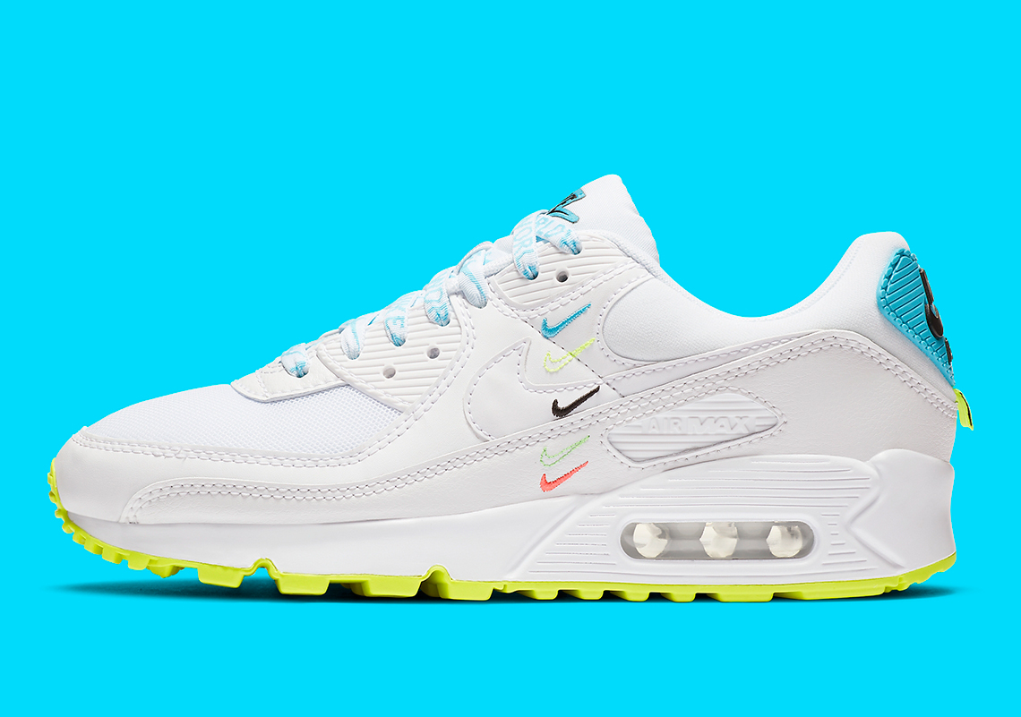 Nike Stacks Swooshes On Swooshes On The Air Max 90 Worldwide