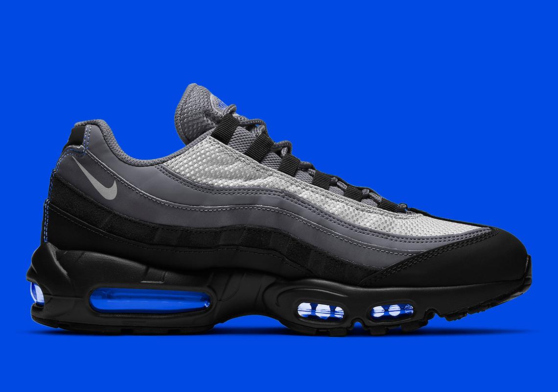 air max 95 bleu et noir