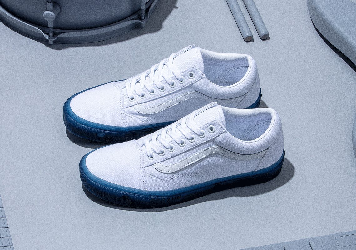 vans bleu foot locker