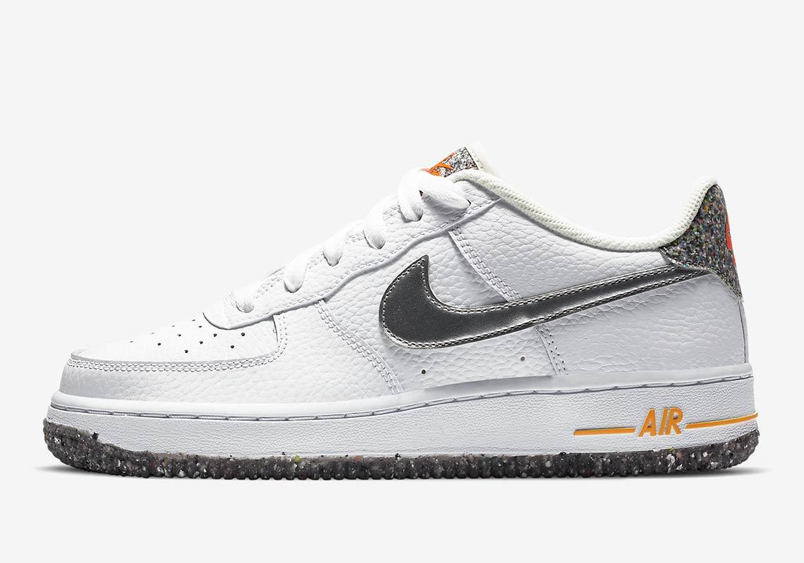 Informations sur la sortie de la Nike Air Force 1 Crater DB1558 ...