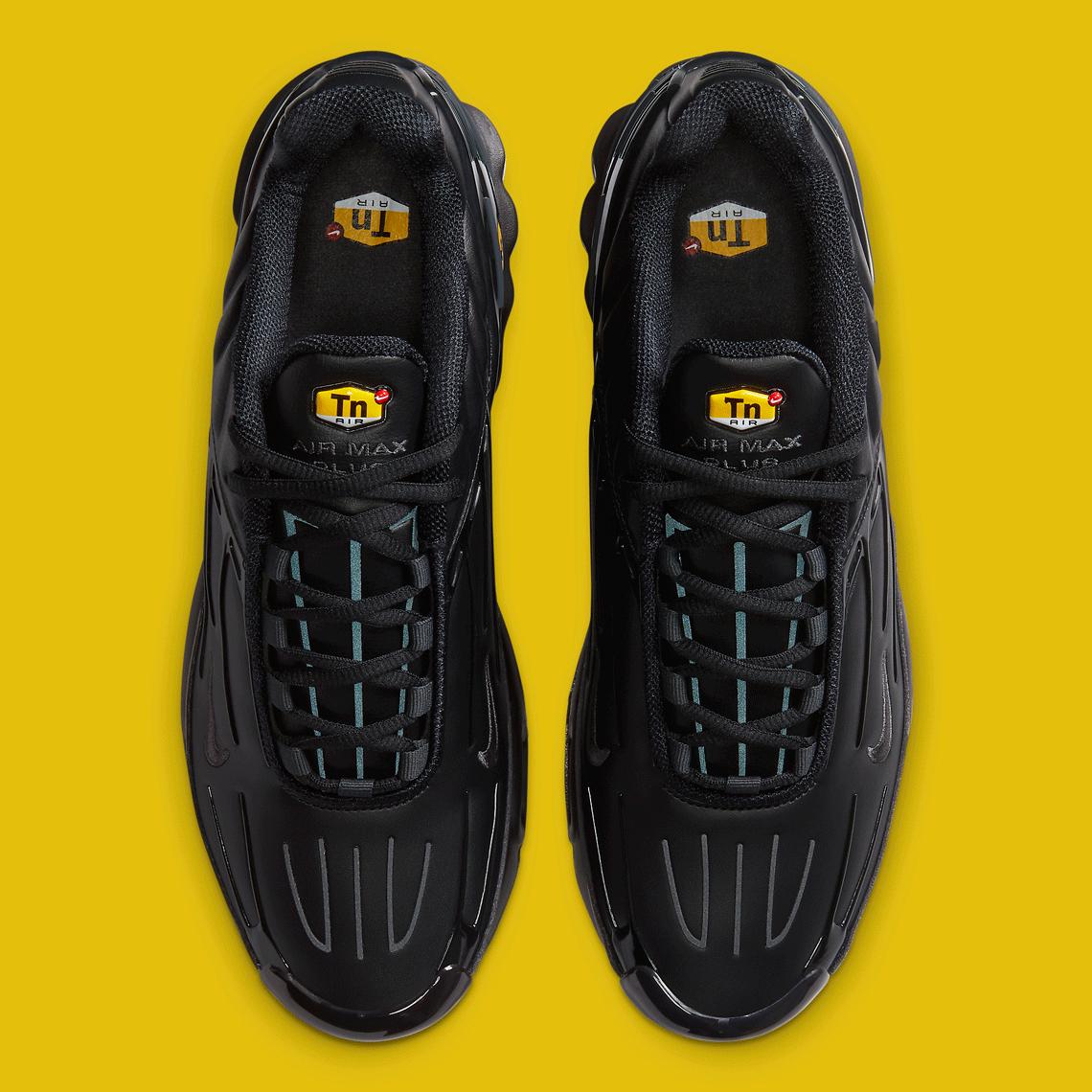 Nike Air Max Plus 3 Noir Cuir CK6716-001 - Crumpe