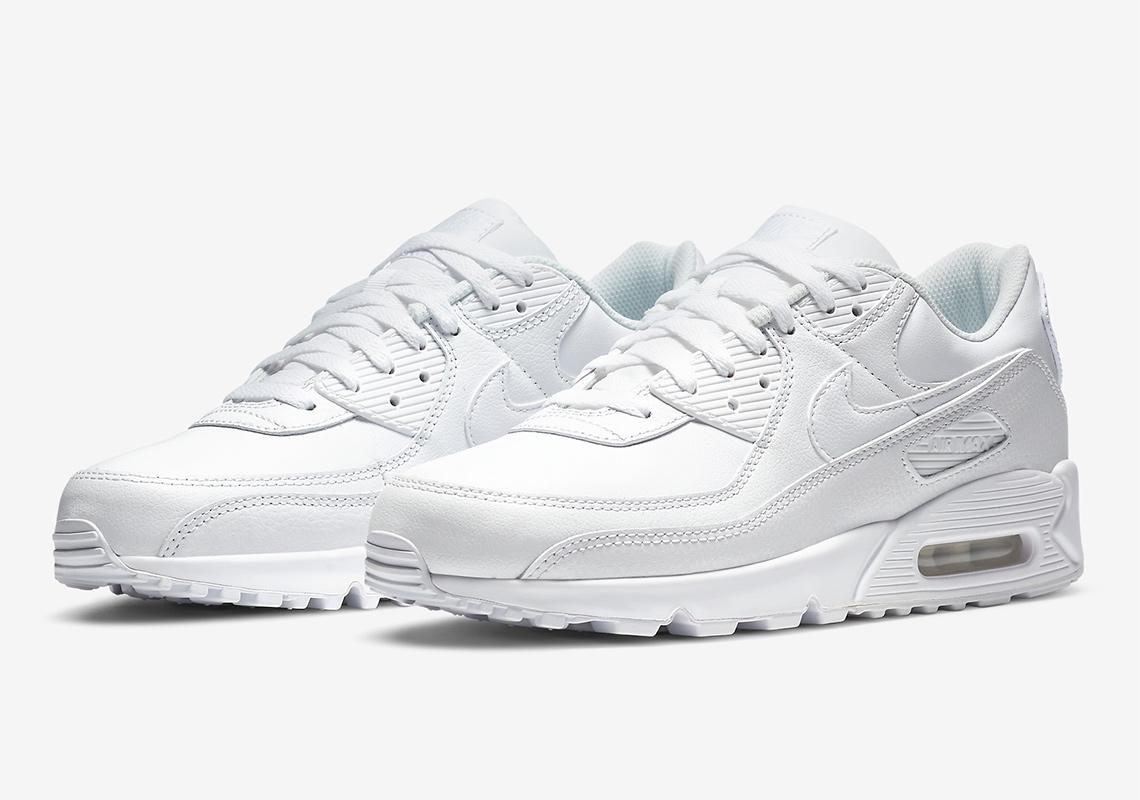 Nike Air Max 90 Blanche Noir CZ5594-100 CZ5594-001 - Crumpe