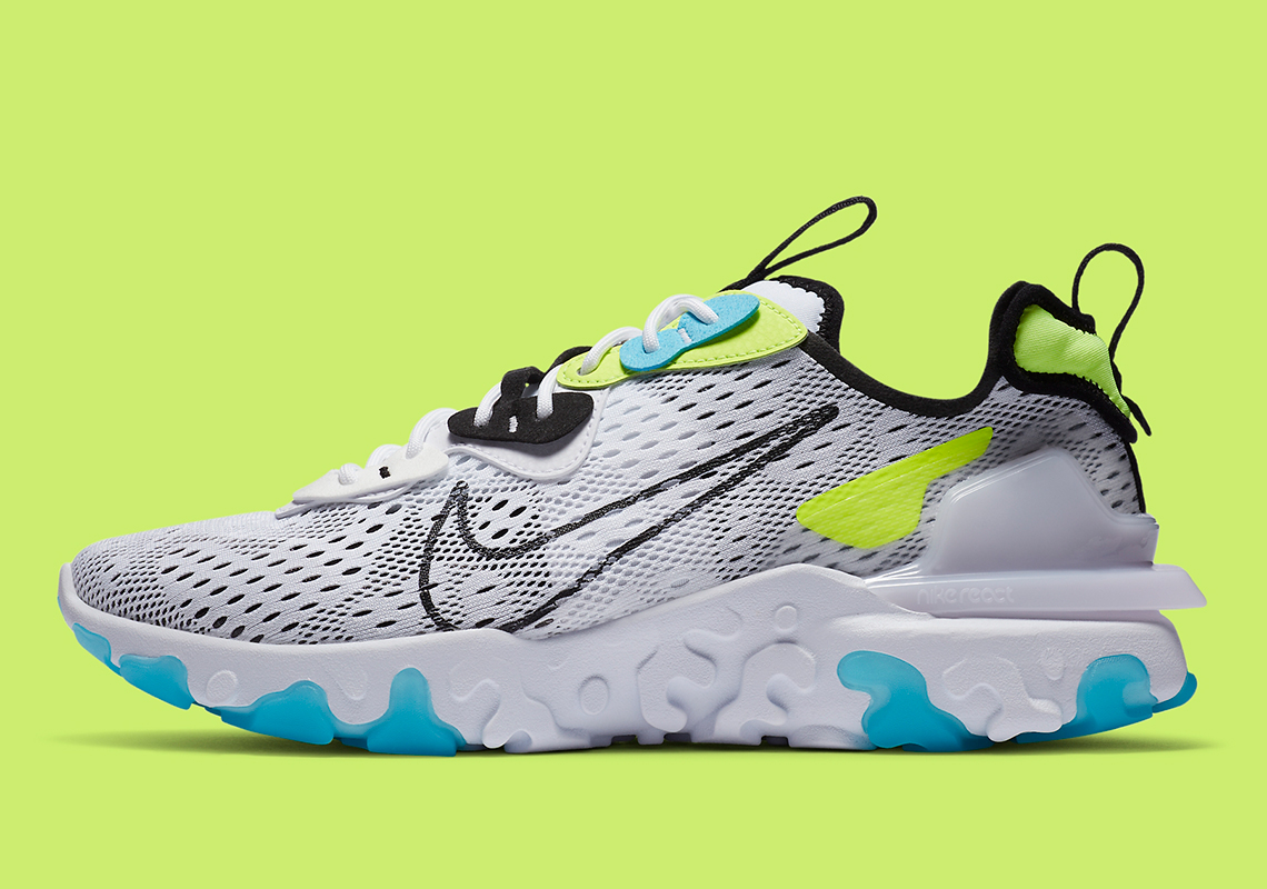 Nike React Vision Worldwide CT2927-100 - Crumpe