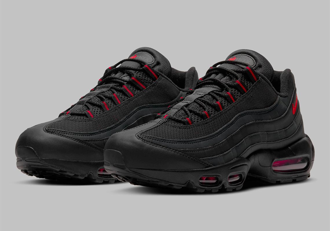 Nike Air Max 95 Noir Rouge Reflective DD7114-001 - Crumpe