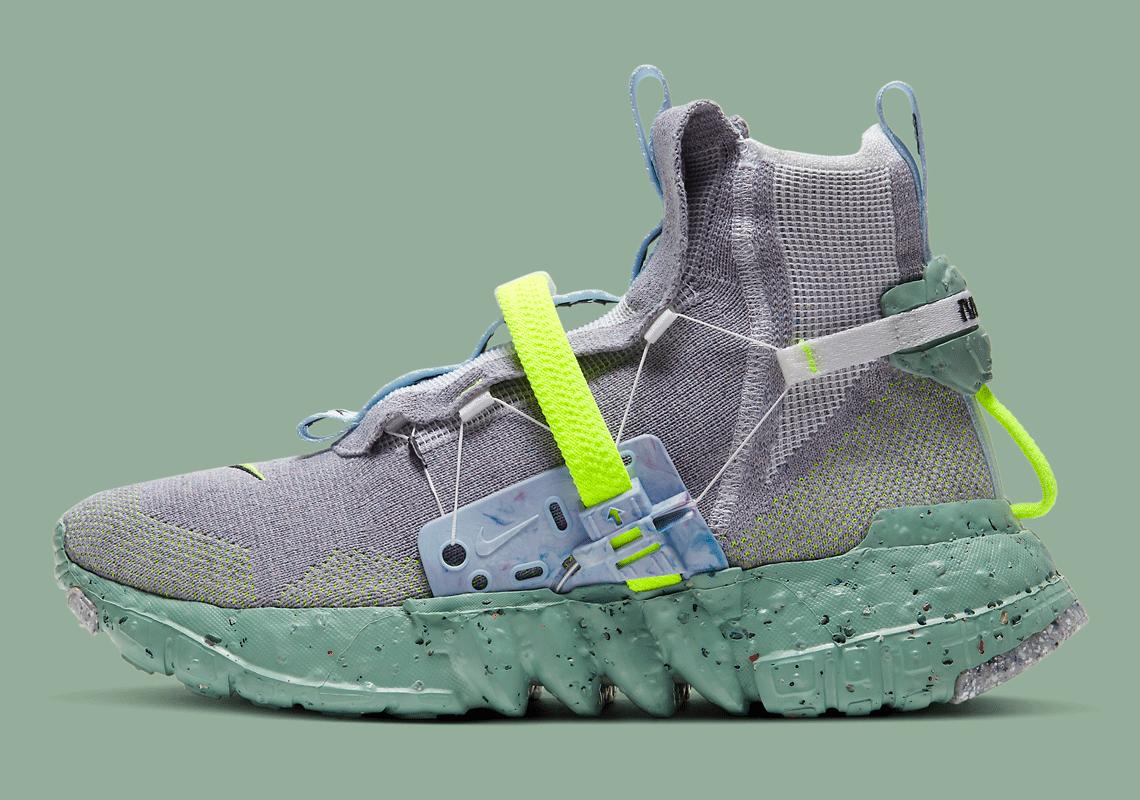 Nike Space Hippie 03 Healing Jade CQ3989-004 | SneakerNews.com