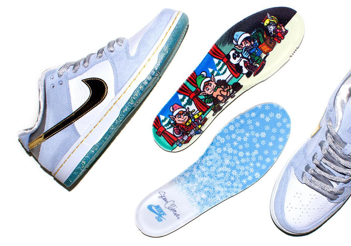 Sean Cliver Nike SB Dunk Low Holiday Liste des magasins spéciaux ...