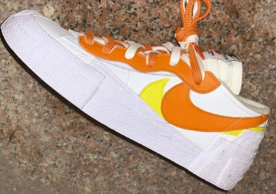 sacai Nike Blazer Low Magma Orange DD1877-100