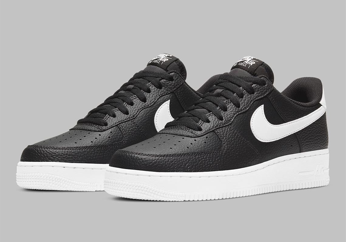 Nike Air Force 1 Noir Blanche CT2302-002 CT2303-002 – Crumpe