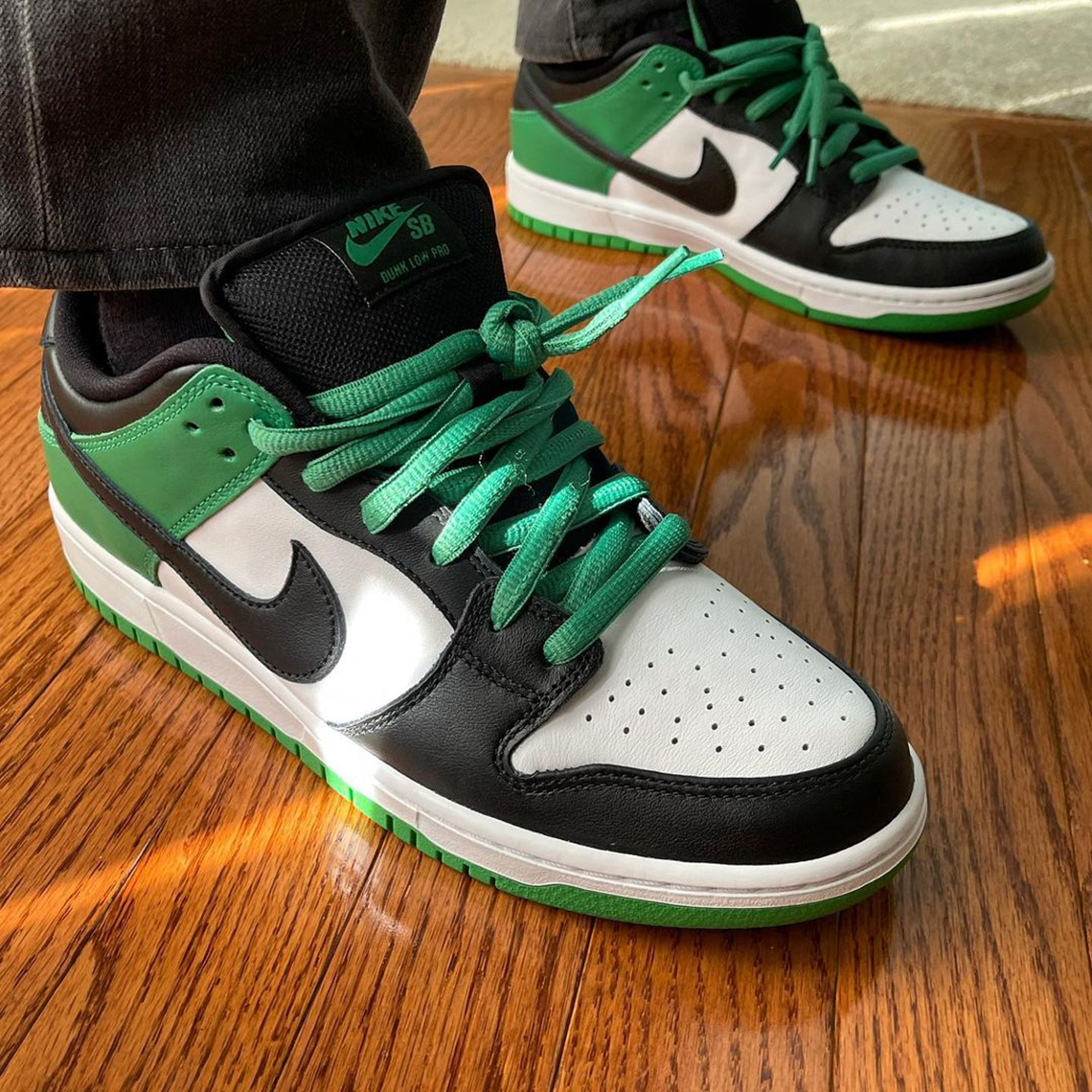 Nike SB Dunk Low J-Pack Celtics Release Info - Crumpe
