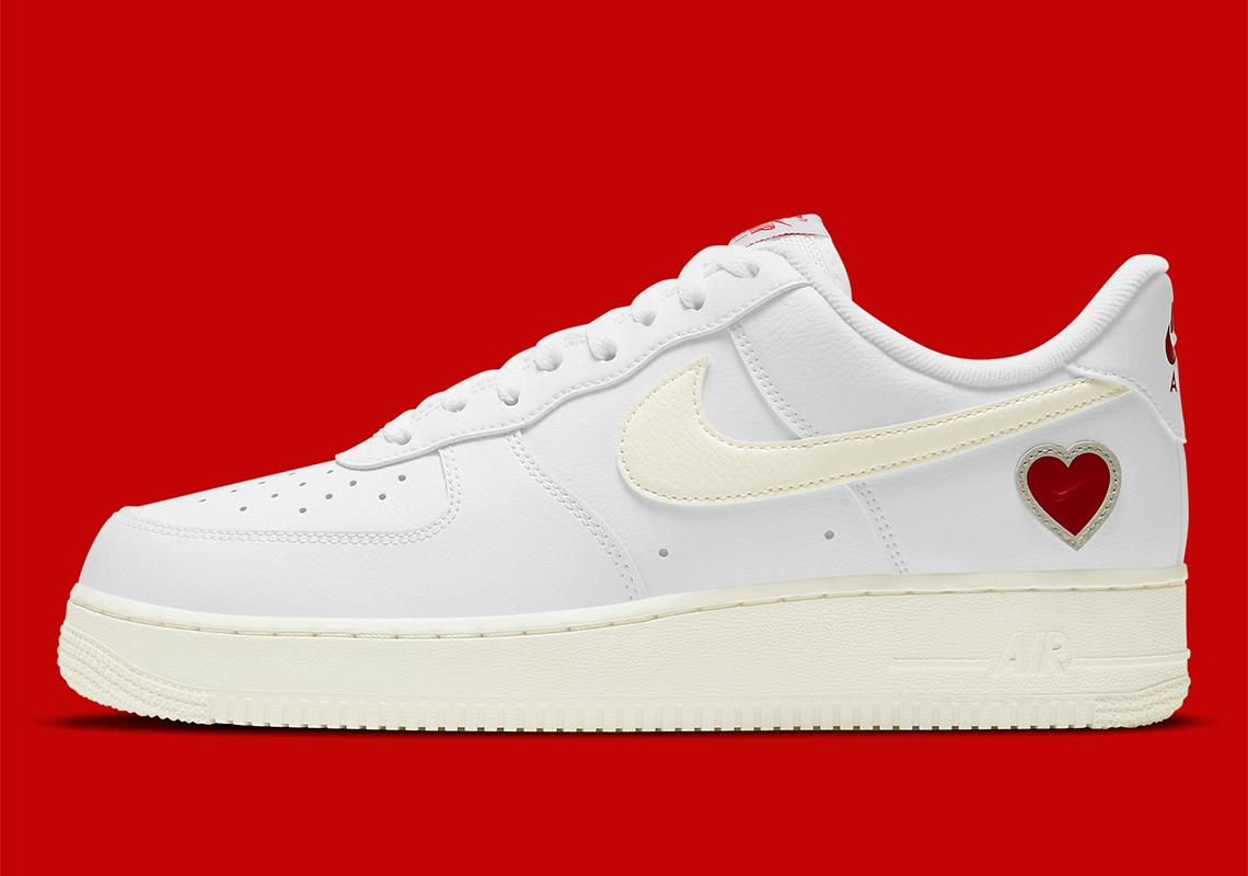Dates de sortie de la Nike 2021 Air Force 1 pour la Saint-Valentin ...