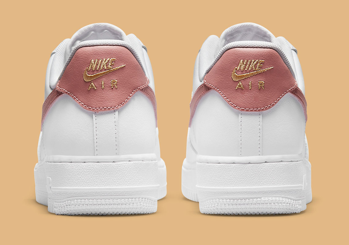 Nike Air Force 1 Low Blanche / Rouille Rose CZ0270-103 - Crumpe