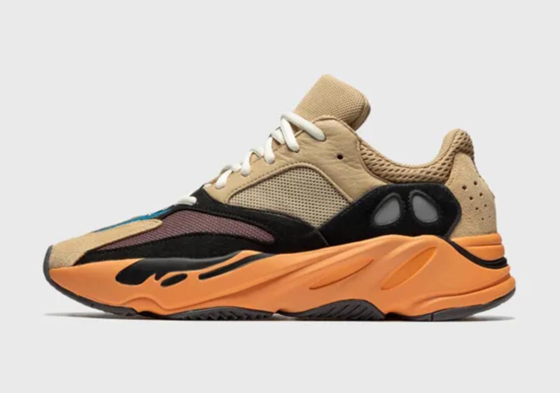 Release Reminder – adidas Yeezy 700 'Enflame Amber'