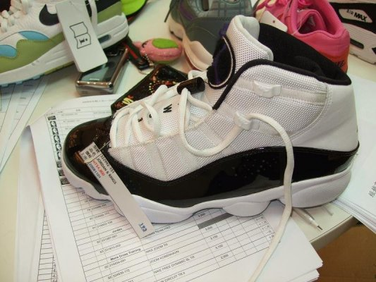 I Still Like My Air Jordan Six Rings... just can't bring myself to wearing them