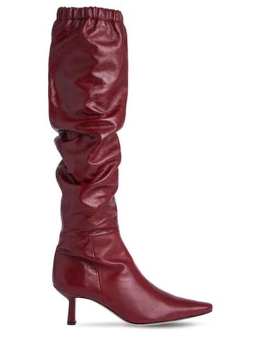 By Far Gwen Creased leather Boot