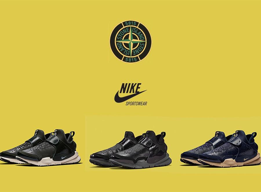 Nike X Stone Island – Sock Dart Mid