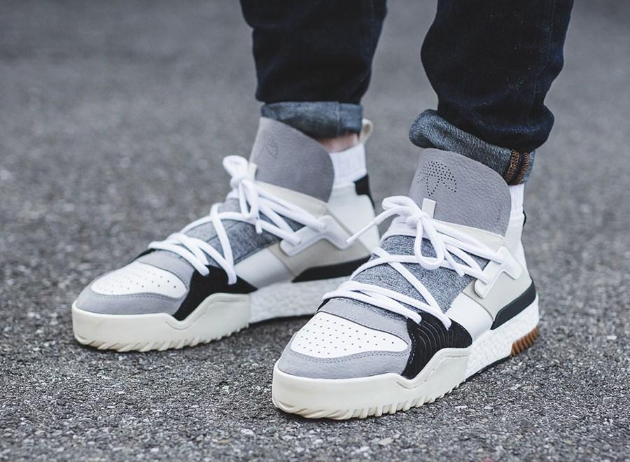 adidas Originals X Alexander Wang – AW BBall E Skate – Imagens On-Feet