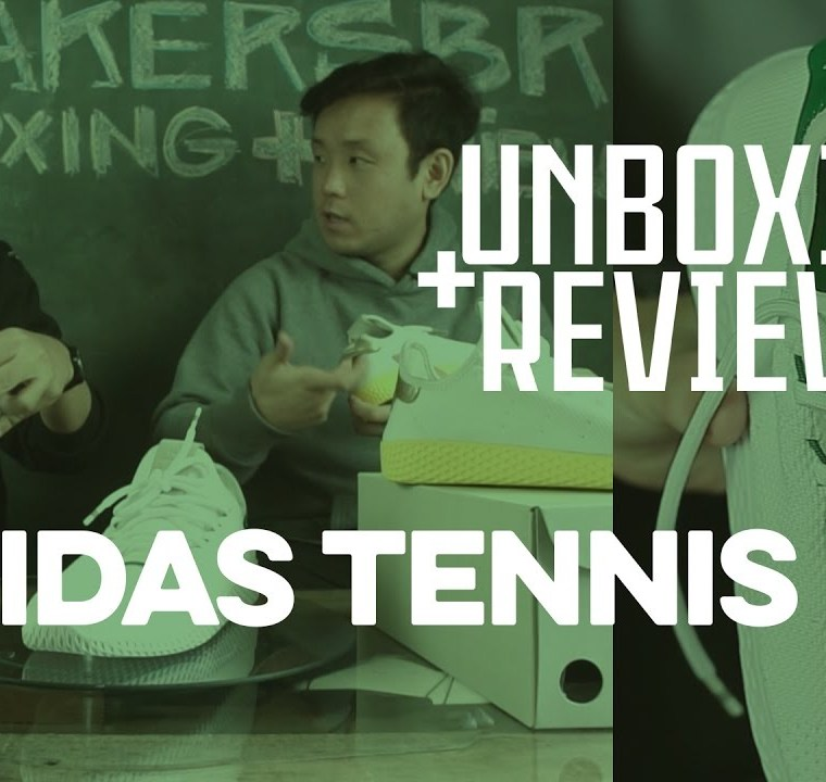 A História Dos Tênis De Pharrell Williams + Unboxing E Review Do adidas Originals Tennis Hu