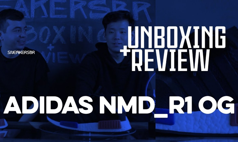 Fizemos Um Unboxing E Review Do NMD_R1 OG, Que Chega Ao Brasil Nessa Sexta