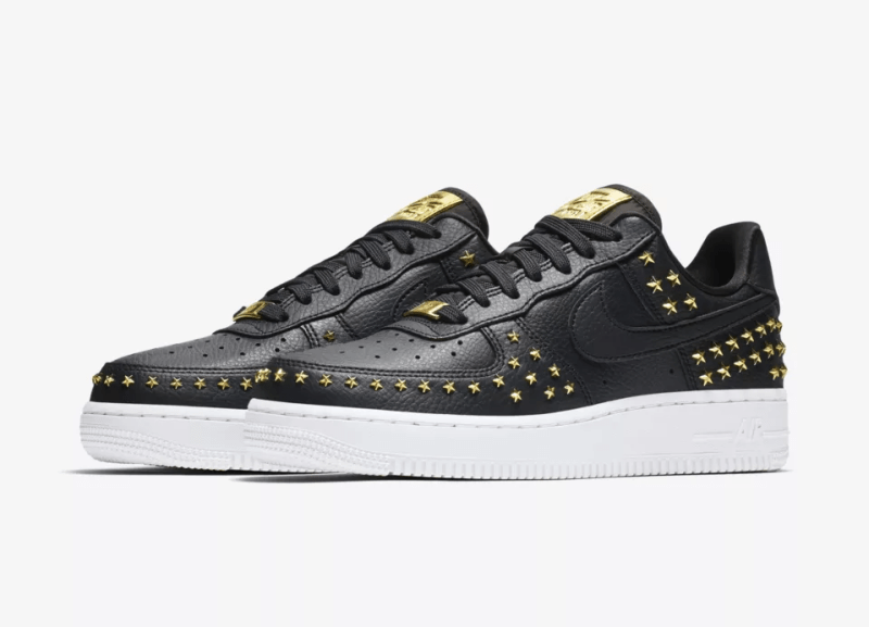 Release Date: Nike Women's Air Force 1 XX Star Studded 'Oil
