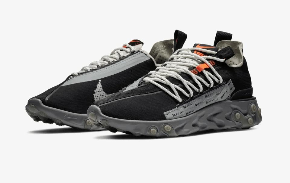 Release Date: Nike ISPA React Low 'Black/Metallic Silver'