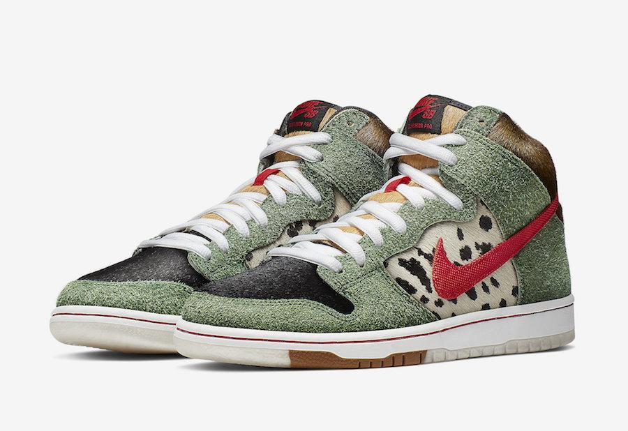 Release Date: Nike SB Dunk High 'Dog Walker'