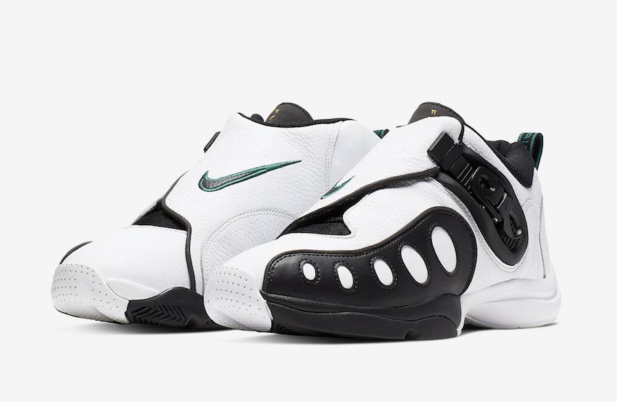 Release Date: Nike Zoom GP 'White/Black/Lucid Green'