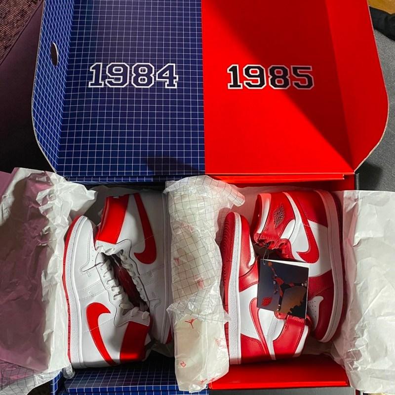 Nike Air Ship x Air Jordan 1 Pack