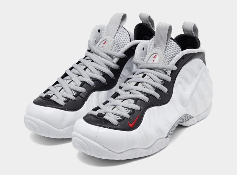 Nike Air Foamposite Pro White/Black/University Red