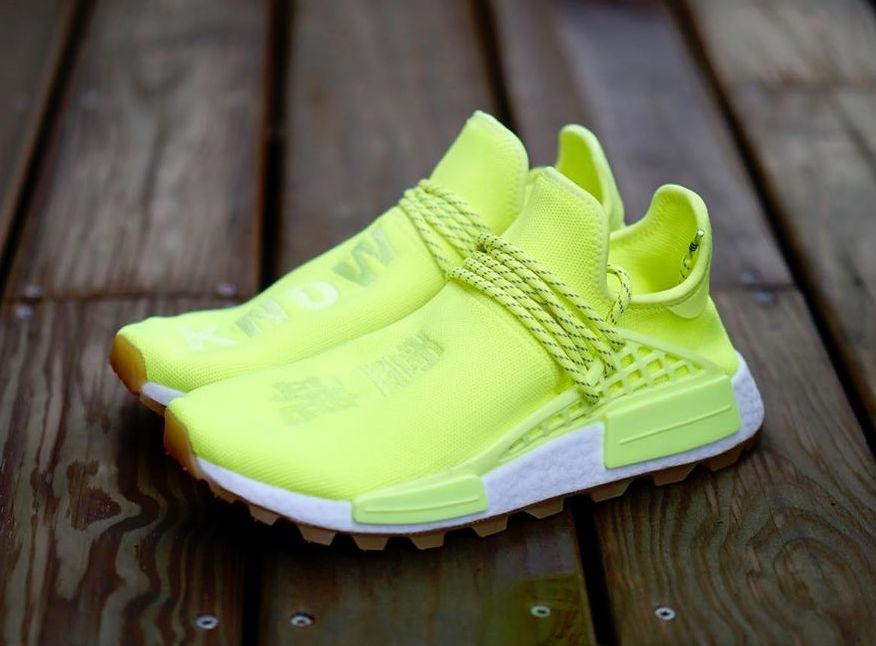 Adidas Nmd Hu Trail In Volt Sneaker Shop Talk