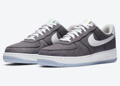 Recycled materials come on this Nike Air Force 1 Low