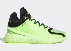 """Signal Green"" Adidas D Rose 11: Official Images"