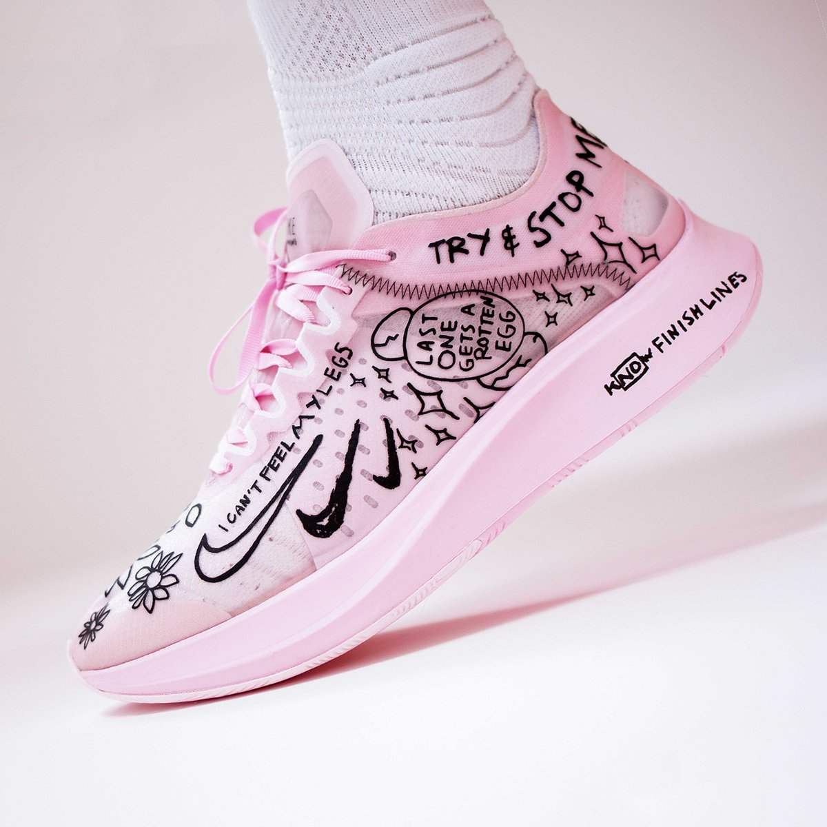 NATHAN BELL X NIKE ZOOM FLY SP $112.50