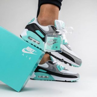 "Nike Air Max 90 Re-Craft ""Hyper Turquoise"" .97 Free Shipping"