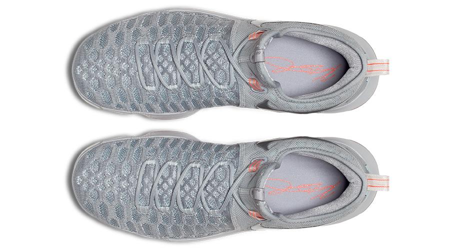 Nike Zoom KD9 Gray Zero NBA 2016 Release Top View