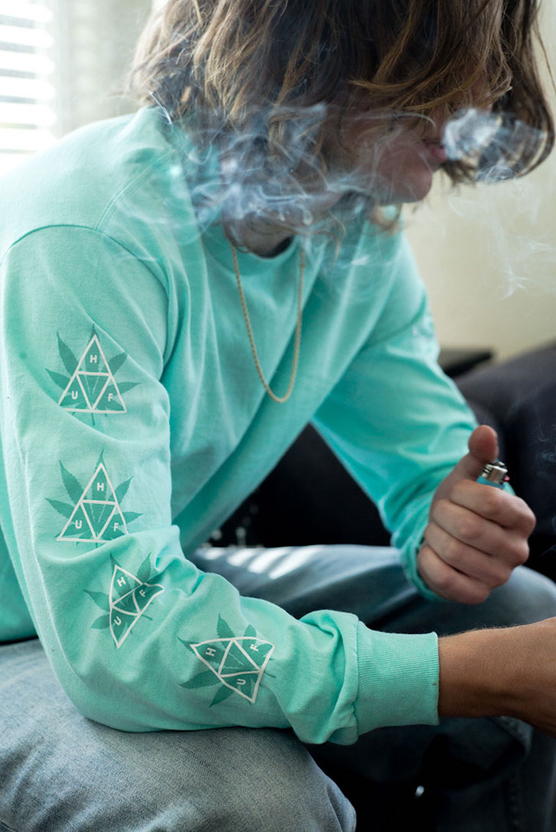 HUF X 420 PLANTLIFE COLLECTION LS TEE 2
