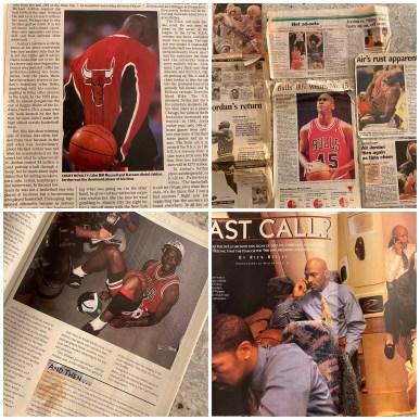 Michael Jordan NBA Basketball