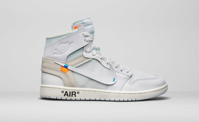 Air Jordan 1 Off White Blanche