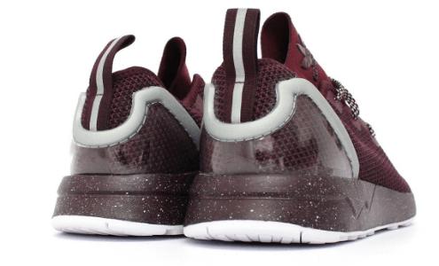 adidas zx flux adv asym maroon