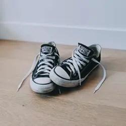 converse shoes in washing machine