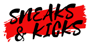 Sneaks & Kicks Logo Horizontal